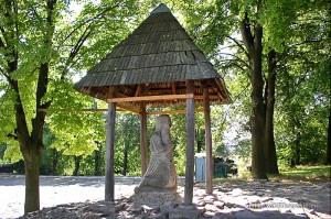 Figura pielgrzyma w Nowej Słupi