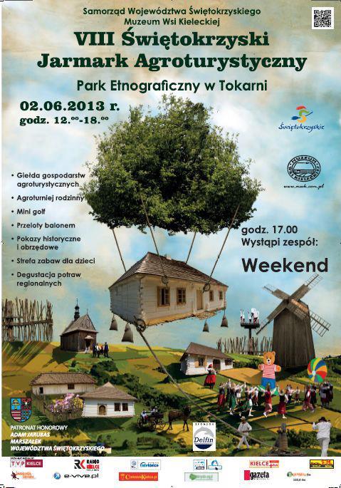 Świętokrzyski Jarmark Agroturystyczny 2013 - plakat