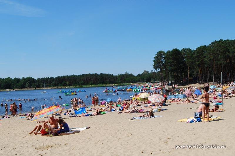 Kąpielisko w Sielpi, Fot. Michał Paszkowski