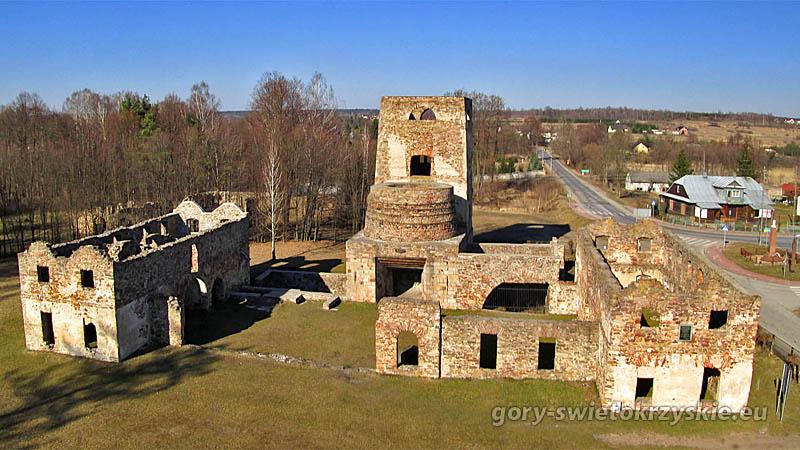 Ruiny huty w Samsonowie, fot. Andrzej Paszkowski